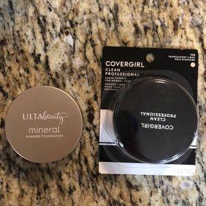 Ulta Beauty Mineral Powder Foundation & Covergirl